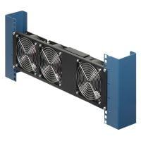 Vertical, Mid-Rack Fan Unit, 3-Way - Side View