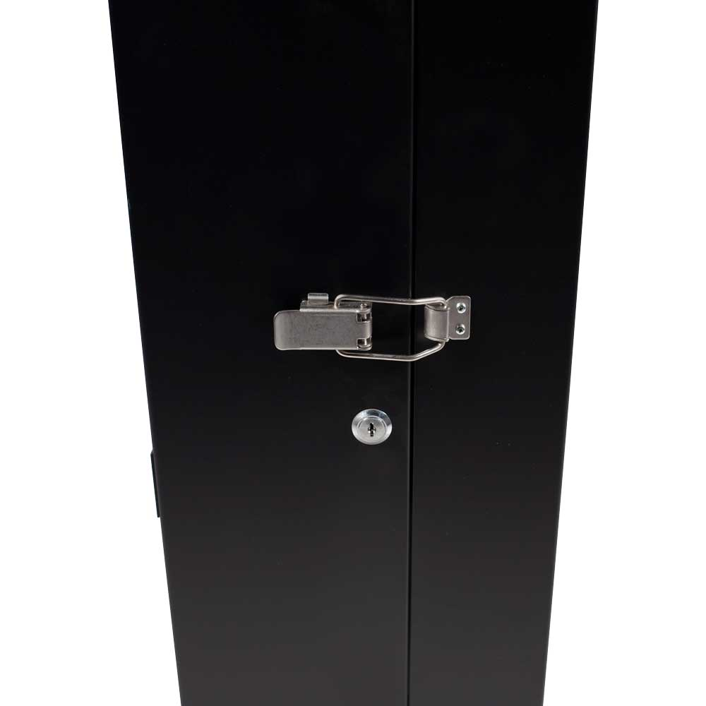 Vented Locking Hinged Cabinet Door With Latch