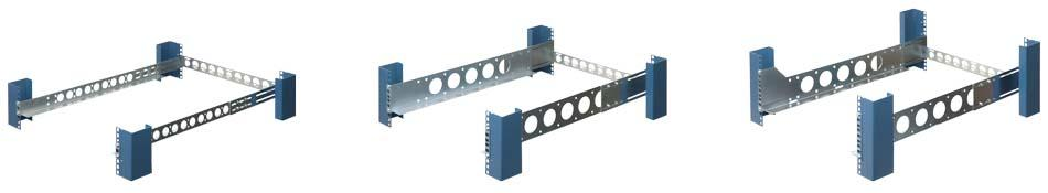 Universal Rack Rail U Height Comparison