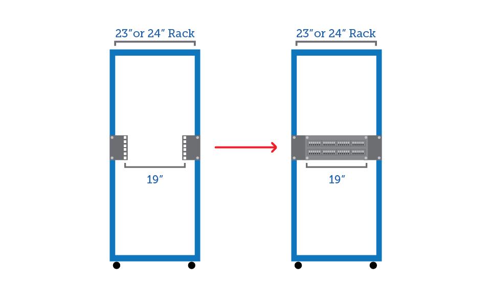RackSolutions Reducer Bracket