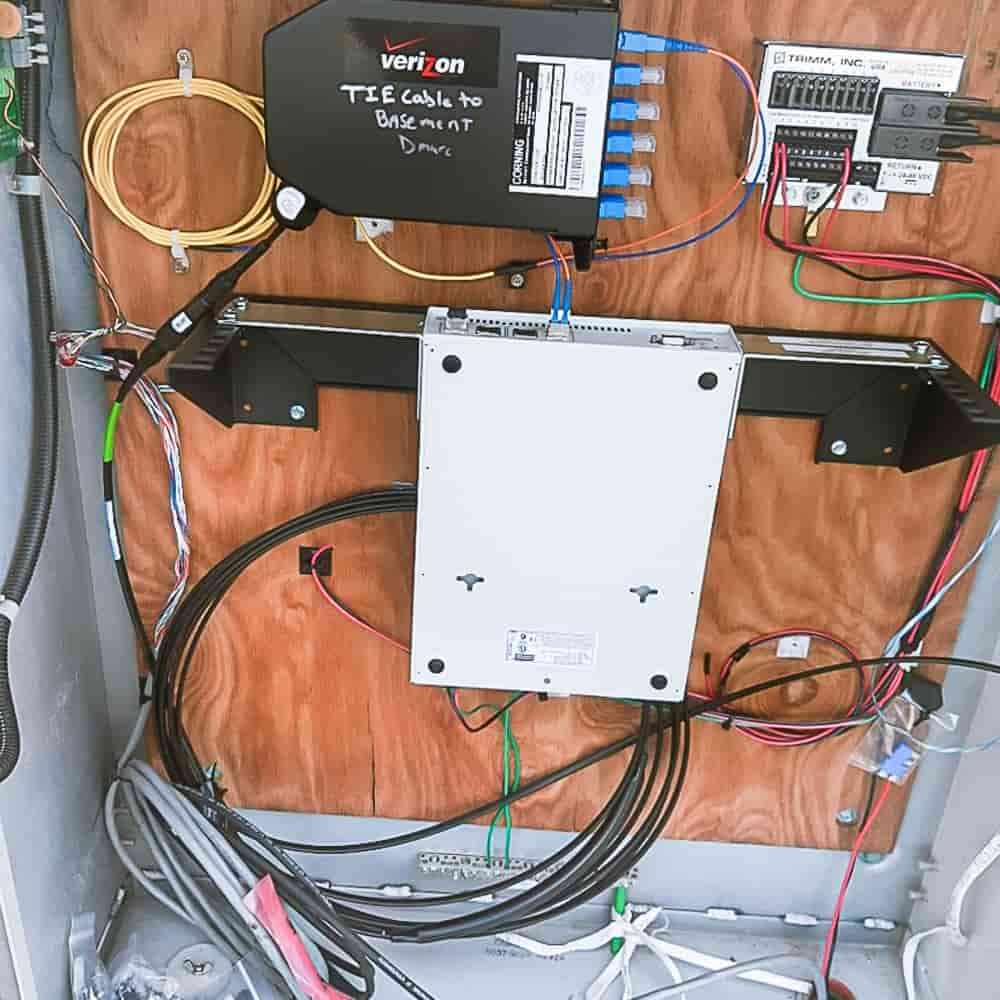 Installation Example for Vertical Wall Mount Rack Bracket 1U - 4U